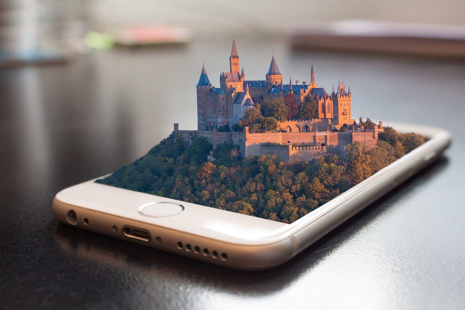 Augmented Reality (AR) toegepast in een restaurant
